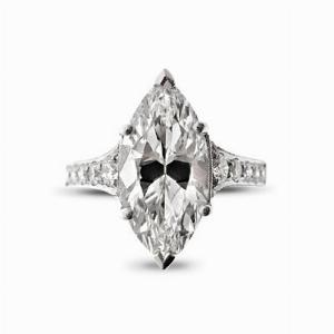 2.84ct Marquise Cut Diamond Ring